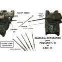 Raw gun barrel, ZAMAC, EBR FL 10 and AMX 13