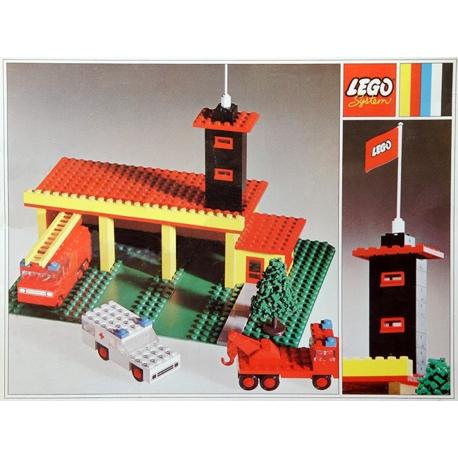 caserne de pompiers lego r f 347 tant jadis. Black Bedroom Furniture Sets. Home Design Ideas