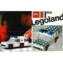 AMBULANCE LEGO réf 600