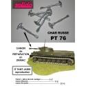 RAW GUN BARREL TANK PT 76 SOLIDO