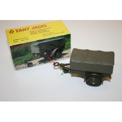 KIT US CARGO TRAILER 1 Ton, Tarp, 1/55th Scale